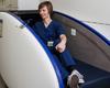 Un cocon pour profiter de micro-siestes aux urgences de l'hôpital Jessa, dans le Limbourg