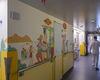 Une unité de pédiatrie entièrement relookée par des artistes de la Fondation Paint a Smile