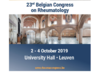23rd Belgian Congress on Rheumatology