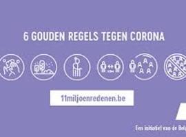 Nieuwe coronacampagne: '11miljoenredenen.be'