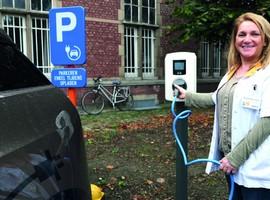 RZ Heilig Hart Tienen stimuleert elektrisch rijden