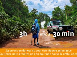 Oproep voor donaties voor een nieuwe ambulance
