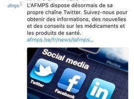 L' AFMPS débarque sur Twitter et Facebook