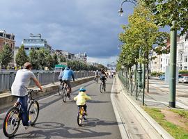 Dimanche sans voiture - La qualité de l'air à Bruxelles objectivement meilleure (Celine)