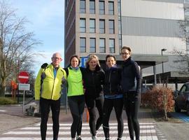 NKO artsen lopen samen 100 km tegen kanker
