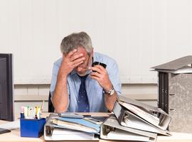 Bijna 40 pct van de ziektedagen in onderwijs komt door stress, depressie of burn-out