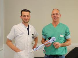 Unieke percutane tricuspidalishartklepreparatie met succes uitgevoerd op campus Sint-Jan