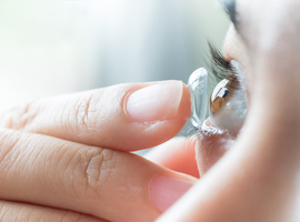 Imec et l'UGent développent une lentille de contact électronique avec iris artificiel