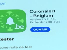 Le test de l'application Coronalert débute ce vendredi