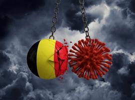 La Belgique connaît actuellement un taux de positivité de 2,7%, le Rt en-dessous de 1