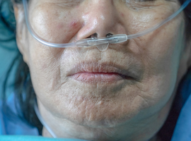 Près de 270 nouvelles admissions quotidiennes à l'hôpital en moyenne en Belgique