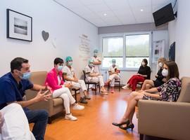 Premier Wilmès brengt bezoek aan Hasselts Jessaziekenhuis