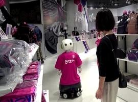 Japon: un robot rappelle aux clients de porter un masque