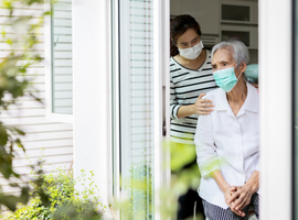 Thuiswonende senioren zijn angstiger over de toekomst na eerste lockdown