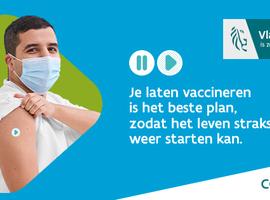 Vlaamse vaccinatieteller - mét aantal toegediende vaccins - staat online