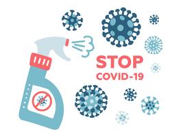 Covid-19: quelques (dangereuses) pratiques relevées en matière de désinfection