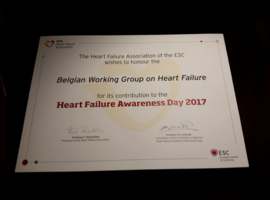 Le Belgian Working Group on Heart Failure récompensé