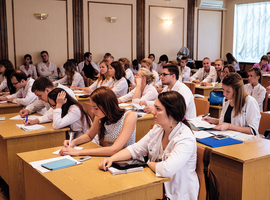 Un cours de MedTech en 5ème année de médecine à l'ULB