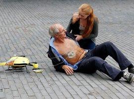 De Stad Gent steunt de ontwikkeling van een 'ambulance-drone' met intentieverklaring