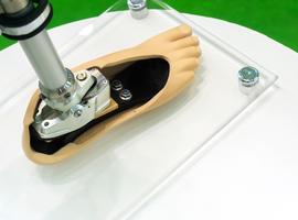 VUB spin-off haalt 2,4 miljoen op voor ontwikkeling bionische prothese bij voetamputatie