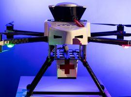Le vol de test d'un drone entre deux hôpitaux réalisé avec succès à Anvers