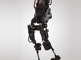 Une première en Wallonie: un exosquelette et un innowalk à l'hôpital Vivalia de Libramont