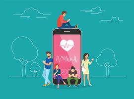 Une appli de l'université d'Hasselt motive les patients cardiaques pendant leur revalidation