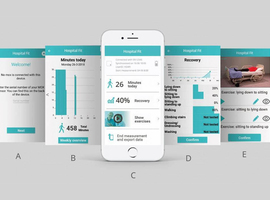 Hospital Fit app bevordert herstel patiënten