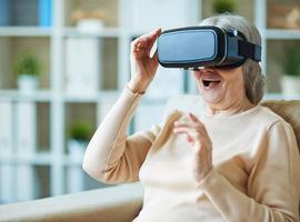 Ouderen kunnen wél om met virtuele realiteit