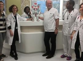 Delta Chirec : un robot humanoïde rejoint le service pédiatrie