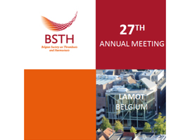 Belgian Society on Thrombosis and Haemostasis 2019