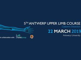 5th Antwerp upper limb course: cadaveric dissection