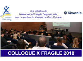 Colloque X fragile 2018