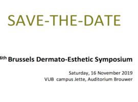 Brussels Dermato-Esthetic Symposium, 16/11/2019
