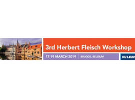 3th Herbert Fleish Workshop, International Federation of Musculoskeletal Research Society (IFMRS)