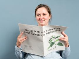 Belgen en netelroos: Ruim 40% van de Belgen denkt dat netelroos een allergische ziekte is