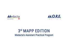 3th Medacta's Assistant Practical Program