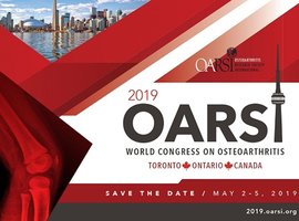 Osteoarthritis Research Society International (OARSI) World Congress