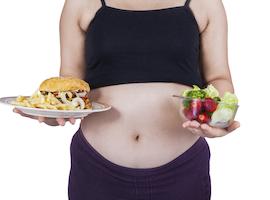 Faut-il priver la femme enceinte de frites et de chips?