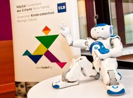 Un robot comme nouveau bénévole à l'Hôpital Universitaire des Enfants Reine Fabiola