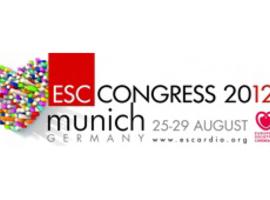 Congrès annuel de la Société Européenne de Cardiologie (Munich, 25-29/08/2012)