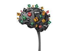 Cartes cognitives  et GPS cérébral