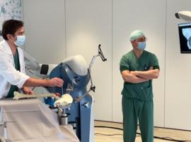 HeiligHartziekenhuis Lier: robot voor knie- en heupprothesen