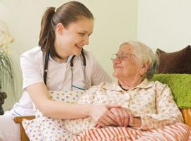 Covid-patiënten gediagnosticeerd door een arts, thuisverpleegkunde