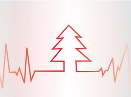 Le risque d'une attaque cardiaque plus élevé lors du réveillon de Noël