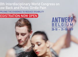 10th Interdisciplinary World Congress on Low Back and Pelvic Girdle Pain