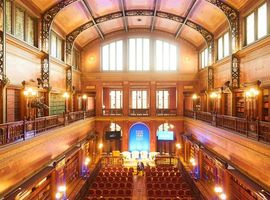 La bibliothèque Solvay de Bruxelles abrite une nouvelle galerie d'arts