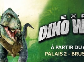 L'expo Dino World arrive à Bruxelles