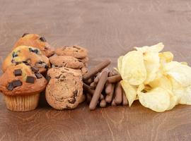 Un anti-régime à base de chips et de gâteaux