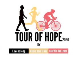 'Tour of Hope', digitaal alternatief voor levenslopen in strijd tegen kanker